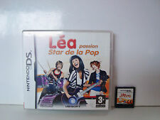 JEU NINTENDO DS DS LITE DSI XL - LEA PASSION STAR DE LA POP