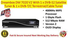 Genuine Dreambox DM 7020 V2 Combo DVB-S2 & DVB-T/C Tuners 2 Year Warranty