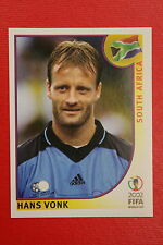 PANINI KOREA JAPAN 2002 # 153 SOUTH AFRICA VONK WITH BLACK BACK MINT!!!