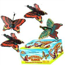 Box of 48 Butterfly Gliders - Brand New Wholesale Pocket Money Toys