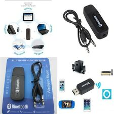New Nue Bluetooth USB Empfänger 3.5mm Stereo Audio Musik Receiver Adapter