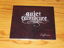 QUIET CONFIDENCE - CONFESSIONS / DIGIPACK-EP-CD 2014 OVP! NEW!!