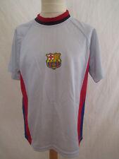 Maillot de football vintage FC Barcelone Luis FIGO N°7 Gris Taille 10
