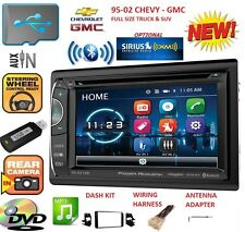 95-02 GM TRUCK/SUV DVD CD AUX BLUETOOTH CAR STEREO RADIO OPTIONAL SIRIUSXM