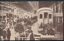 British Empire Exhibition 1924 Postcard - The Palace of Engineering   K844