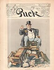 1907 Puck November 20 - Conservatism and graft, bribery and fraud