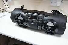 Soundbox Boombox Ghettoblaster Stereo Radio CD MP3 Bluetooth FM AEG SR 4360 BT