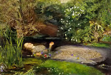 Oil painting Sir John Everett Millais - Ophelia hand painted free shipping cost