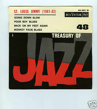 45 RPM EP TREASURY OF JAZZ No 48 ST LOUIS JIMMY ODEN