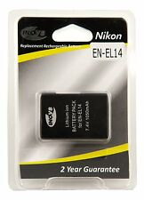Inov8 Nikon EN-EL14 battery for Nikon D3100, D3200, D3300, D5100, D5200 & D5300