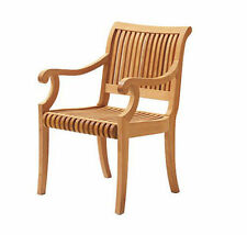 Giva A-Grade Teak Wood Dining Arm Chair Outdoor Garden Patio Furniture New