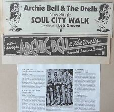 ARCHIE BELL & THE DRELLS : CUTTINGS COLLECTION