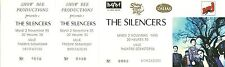 RARE / TICKET DE CONCERT - THE SILENCERS LIVE A LILLE - NOV. 1993 / COMME NEUF