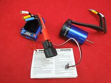 Traxxas iD VXL-3s ESC 3355R & Velineon 3500 Brushless Motor iD plug Stampede 4x4