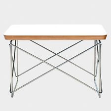 Eames LTR Style Side Coffee Table White Top Chrome Base FREE SHIPPING!