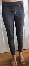Lululemon Size 4 Street to Studio Pant Crop Pants Gray 7/8 Track Run