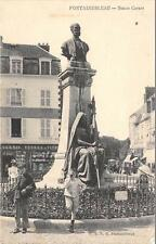 CPA 77 FONTAINEBLEAU STATUE CARNOT