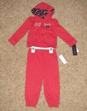 Tommy Hilfiger Baby Girls 2 Piece Outfit (Sweatsuit) - Size 24 Months - NWT