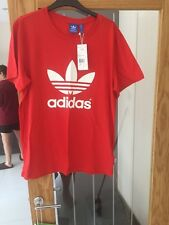 Ladies Adidas Originals Trefoil Tee Shirt Size 14 Brand New With Tags
