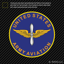 US Army Aviation Branch Plaque Sticker Decal Self Adhesive air corps air forces