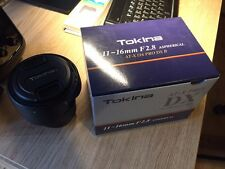 Tokina AT-X PRO 11-16mm F/2.8 DX II Lens Canon Mount