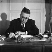 Francis POULENC 1951 - Compositeur Pianiste - Négatif 6 x 6 - 144