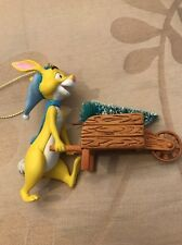 Disney Grolier Presidents Edition Rabbit  Christmas Decoration Ornament
