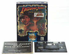 "Indiana Jones And The Fate Of Atlantis PC Game 3.5"" Floppy Disc Big Box Edition"