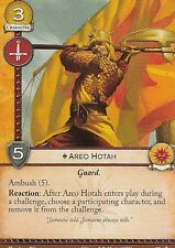3 x Areo Hotah AGoT LCG 2.0 Game of Thrones Core set 103