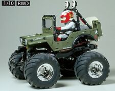 Tamiya 58242 1/10 RC Off Road Car WR-02 Chassis Wild Willy 2000 2 Wheelie w/ESC