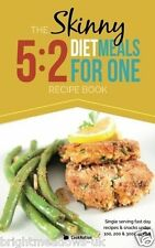 Skinny Meals for1 on the 5 2 Diet Cook Book Healthy Eating Weight Loss Nutrition