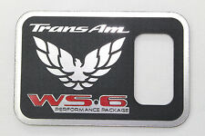 97-02 Firebird Trans Am WS6 TCS Traction Control Switch Panel Plaque