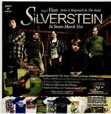 (FI864) Silverstein / Aiden / Farewell to Freeway, split single - DJ CD