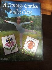 A Fantasy Garden Ballet Class DVD NEW Beginner Children Easy Fitness Songs Kids