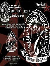 """Gamma Canvas The Blessed White Virgin De Guadalupe 6""""x8"""" Die-Cut Decal STICKER"""
