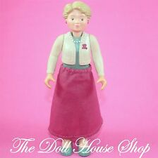 Grandmother Grandma Nana Doll Grandparent Fisher Price Loving Family Dollhouse