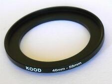 STEP UP ADAPTER 46MM-58MM STEPPING RING 46MM TO 58MM 46-58 FILTER ADAPTER
