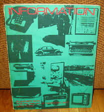 Information The Museum of Modern Art 1970 Ed Ruscha Bernd Hilla Becher Jeff Wall