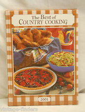 The Best of Country Cooking by Taste of Home Books ~ 2001 Hardback Cookbook