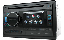 "POWER ACOUSTIK PD-342B DOUBLE 2 DIN CD/DVD/MP3 PLAYER 3.4"" LCD BLUETOOTH USB AUX"