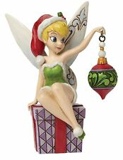 Disney Traditions Christmas Spirit of the Season Tinker Bell Figure 15cm 4046065