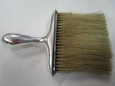 Vintage American Sterling Silver Handled Clothes/Top Hat Brush, Late 1800,s