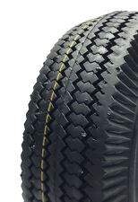 4.10 x 3.50 - 6, 4-Ply Sawtooth Tire and Tube -  Cheng Shin (CST) Hand Cart / Do