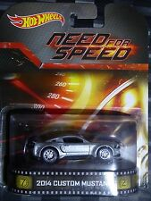 2014 HOTWHEELS - Retro entertainment C - NEED FOR SPEED Custom Mustang