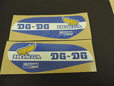 1979 HONDA CR 125 DG Gas Tank Decal Set. AHRMA VINTAGE MOTOCROSS