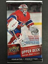 CANVAS YOUNG GUNS! Hot Pack 2015-16 Upper Deck Series 1 Hockey Jack Eichel?