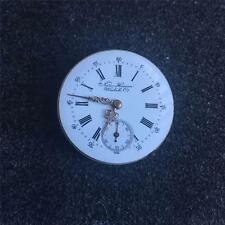 VINTAGE 34.6MM NEW HAVEN HUNTING CASE POCKETWATCH MOVEMENT