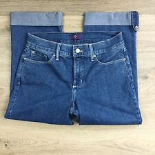 NYDJ Not Your Daughter's Jeans Cuffed Crop Women's Jeans Size 2US Fit W27 (Y1)