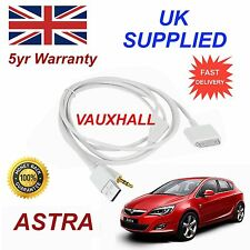 Vauxhall Astra Series For Apple iPhone 3GS 4 4S iPod, Audio Cable and charger wt