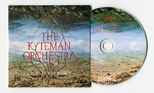 Kyteman Orchestra cd-PROMO - ANGRY AT THE WORLD © 2012 NL-1-Track - hip hop JAZZ